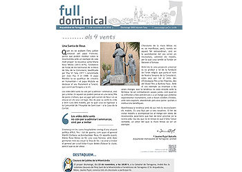 Full dominical n. 3478 / 6 novembre 2016