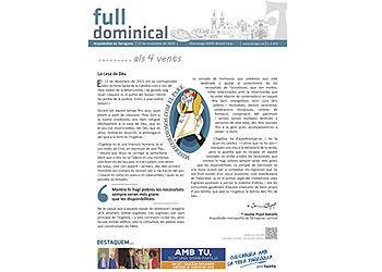 Full Dominical n. 3479 / 13 novembre 16