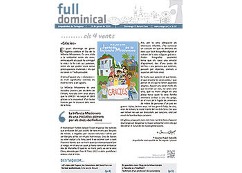 Full Dominical n. 3437 / 24 gener 2016