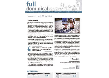 Full Dominical n. 3441 / 21 febrer 2016