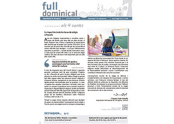 Full Dominical n. 3444 / 13 març 2016