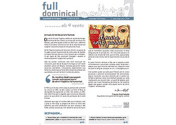 Full Dominical n. 3449 /17 abril 2016