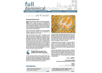 Full Dominical n. 3453 / 15 maig 2016