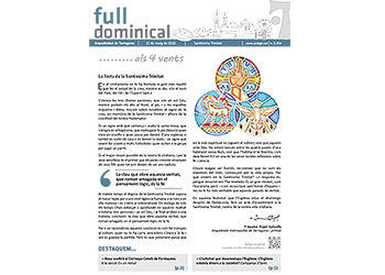Full Dominical n. 3454 / 22 maig 2016