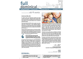 Full Dominical n. 3458 / 19 juny 2016