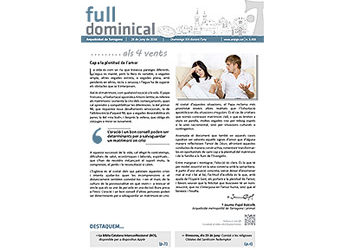 Full Dominical n. 3459 / 26 juny 2016