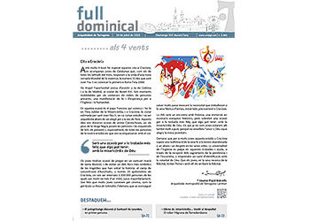 Full Dominical n. 3463 / 24 juliol 2016