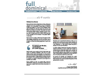 Full Dominical n. 3467 / 21 agost 2016