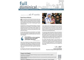 Full Dominical n. 3469 / 4 setembre 2016