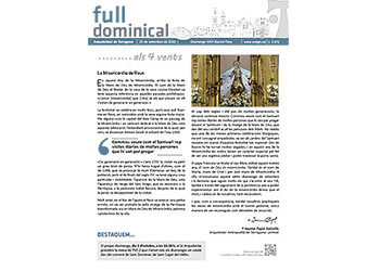 Full Dominical n. 3472 / 25 setembre 2016