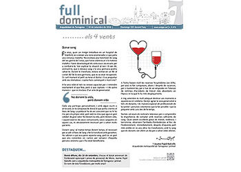 Full Dominical n. 3471 / 18 setembre 2016