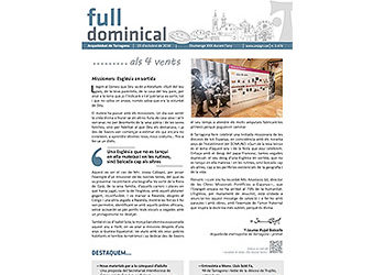 Full Dominical n. 3476 / 23 octubre 2016
