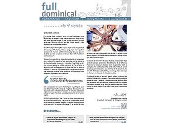 Full Dominical n. 3488 / 15 gener 2017