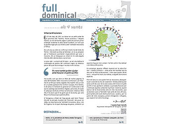 Full Dominical n. 3489 / 22 gener 2017