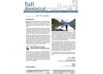 Full Dominical n. 3490 / 29 gener 2017