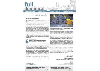 Full Dominical n. 3493 / 19 febrer 2017