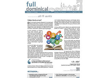 Full Dominical n. 3498 / 26 març 2017