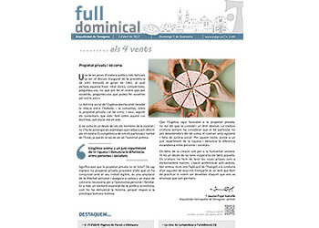 Full Dominical n. 3499 / 2 abril 2017