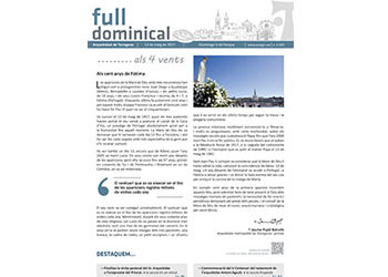 Full Dominical n. 3505 / 14 maig 2017