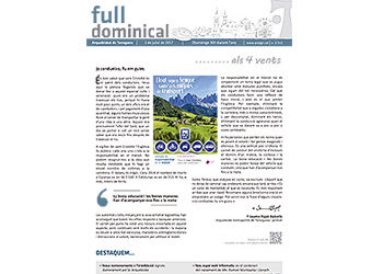 Full Dominical n. 3512 / 2 juliol 2017