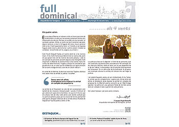 Full Dominical n. 3514 / 16 juliol 2017