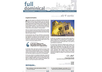 Full Dominical n. 3515 / 23 juliol 2017