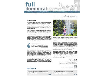 Full Dominical n. 3516 / 30 juliol 2017