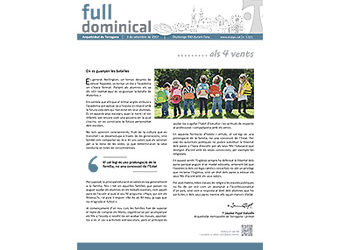 Full Dominical n. 3521 / 3 setembre 2017