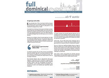 Full Dominical n. 3522 / 10 setembre 2017