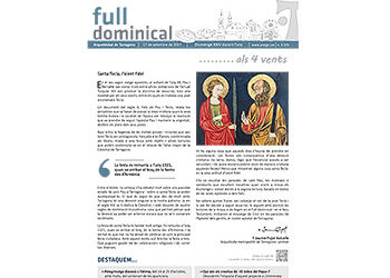 Full Dominical n. 3532 / 17 setembre 2017