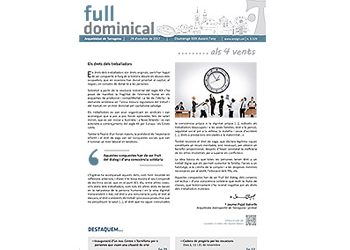 Full Dominical n. 3529 / 29 octubre 2017