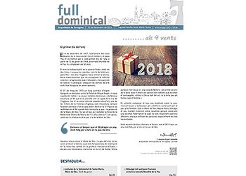 Full Dominical n. 3538 / 31 desembre 2017