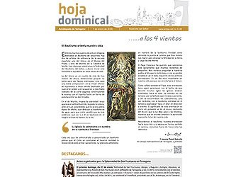Hoja Dominical n. 3539 / 7 enero 2018
