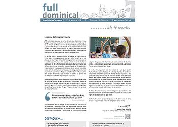 Full Dominical n. 3546 / 25 febrer 2018