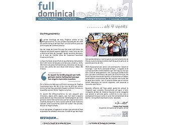 Full Dominical n. 3547 / 04 març 2018