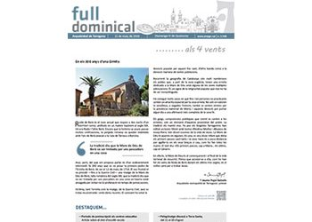 Full Dominical n. 3548 / 11 febrer 2018