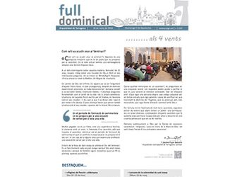 Full Dominical n. 3549 / 18 març 2018