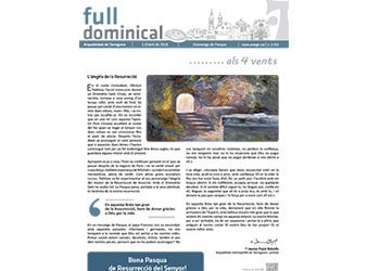 Full Dominical n. 3551 / 1 abril 2018