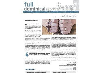 Full Dominical n. 3556 / 6 maig 2018
