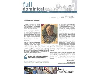 Full Dominical n. 3557 / 13 maig 2018