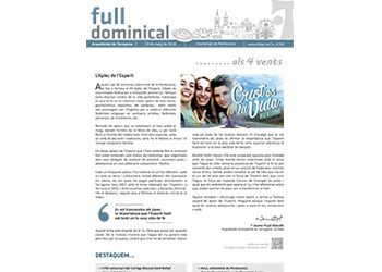 Full Dominical n. 3558 / 20 maig 2018