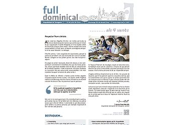 Full Dominical n. 3567 / 22 juliol 2018