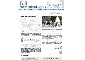 Full Dominical n. 3565 / 8 juliol 2018