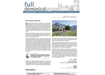 Full Dominical n. 3568 / 29 juliol 2018