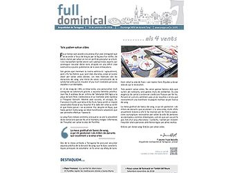 Full dominical n. 3575 / 16 setembre 2018