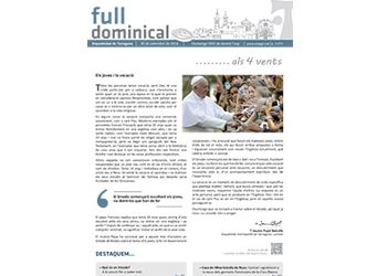 Full dominical n. 3577 / 30 setembre 2018