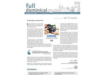 Full Dominical n. 3580 / 21 octubre 2018