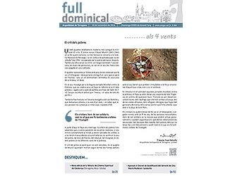 Full dominical n. 3584 / 18 novembre 2018