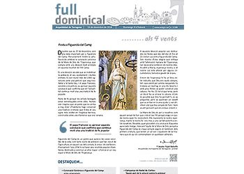 Full Dominical n. 3588 / 16 desembre 2018