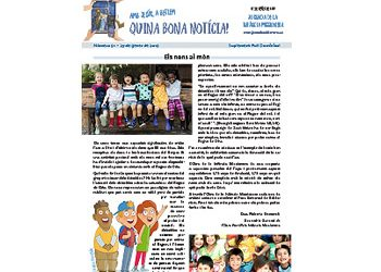 Suplemento Hoja n. 3594 / Infancia Misionera